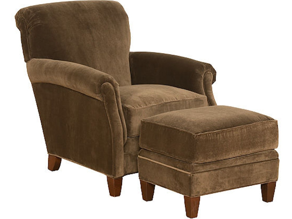 King Hickory Living Room Yale Chair 301 Bostic Sugg