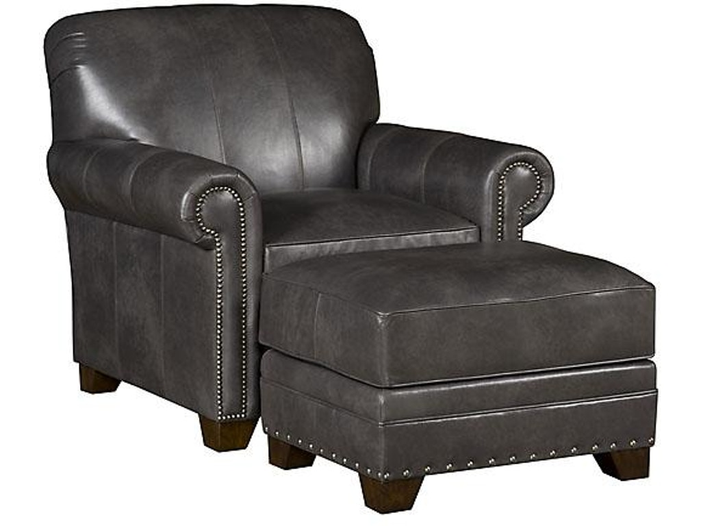 King Hickory Living Room Angelina Leather Chair 3601 L Hickory Furniture Mart Hickory Nc