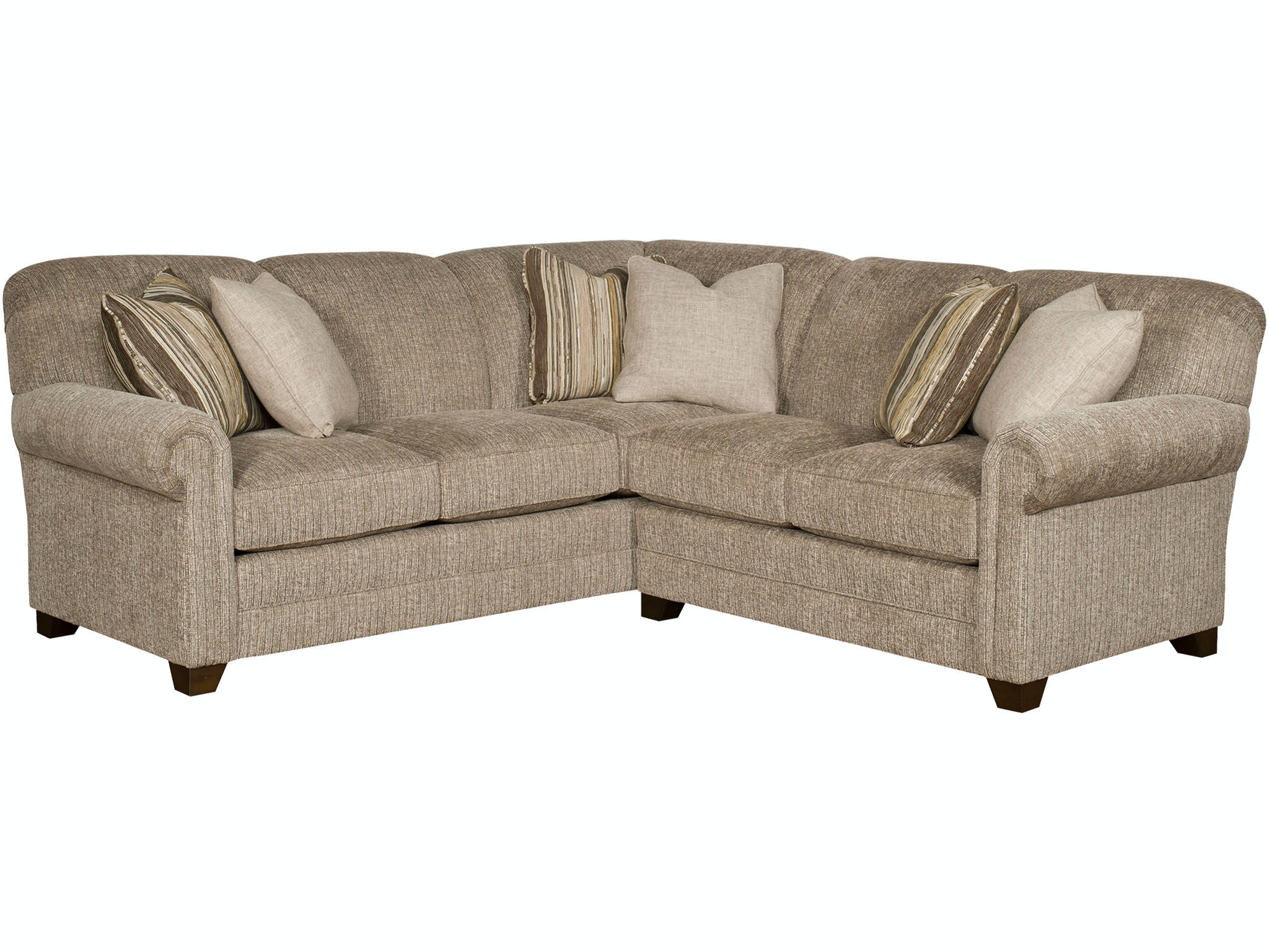 Beau King Hickory Living Room Annika Sectional