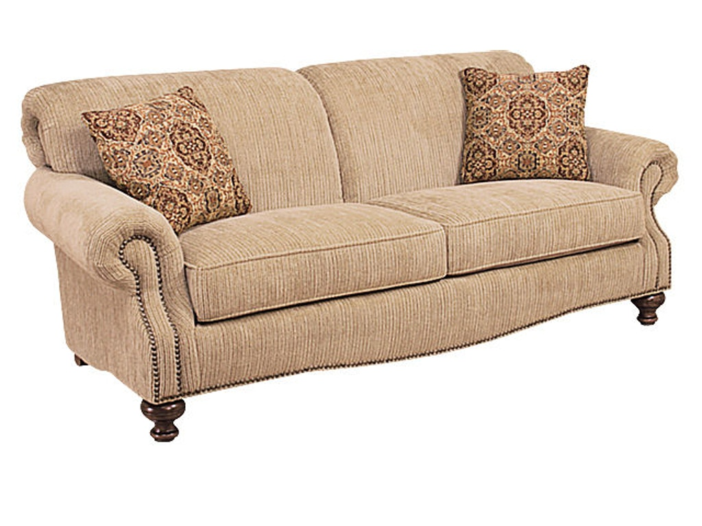 Hickory Manor Living Room Roxanne Fabric Sofa 4100 Grace Furniture Marcy Ny