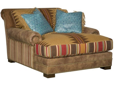 King Hickory Barclay Chaise And A Half