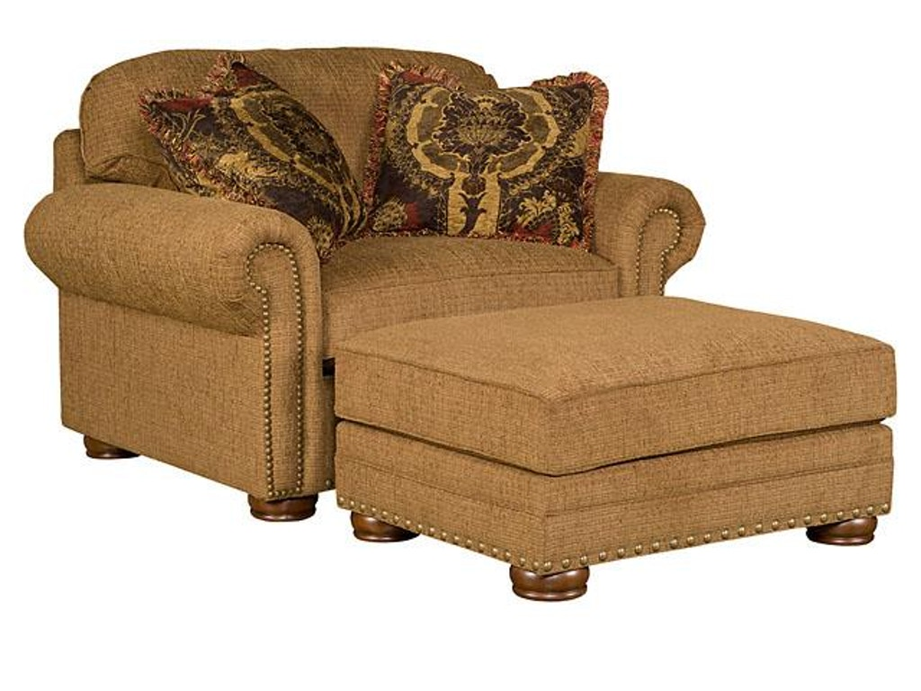 King Hickory Living Room Ricardo Fabric Chair And 1 2 9901 Quality Furniture Murfreesboro Tn