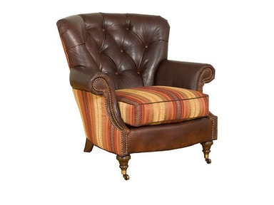Quincy Fabric/Leather Chair