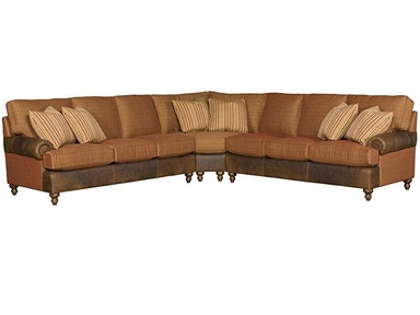Chatham Leather/Fabric Sectional