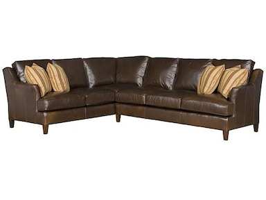 Melrose Leather Sectional