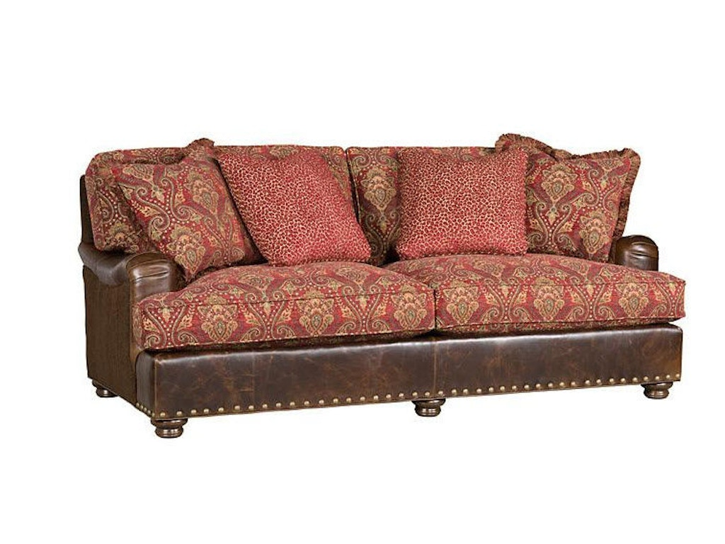 hickory manor living room henson sofa chaise with english