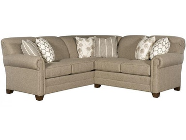 King Hickory Angelina Fabric Sectional