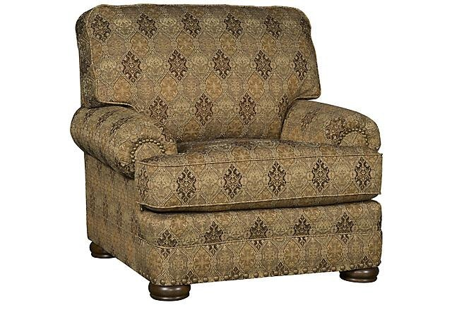 King Hickory Living Room Edward Fabric Chair 8501
