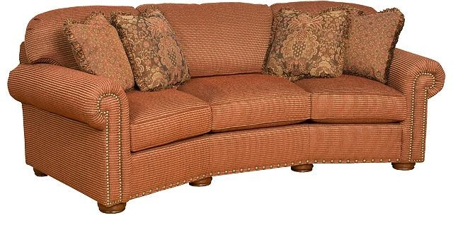 ... Goods Furniture Kewanee Il By King Hickory Living Room Ricardo Fabric  Conversation Sofa ...