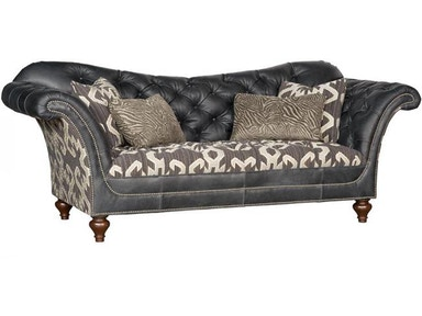 Alicia Leather Fabric Sofa