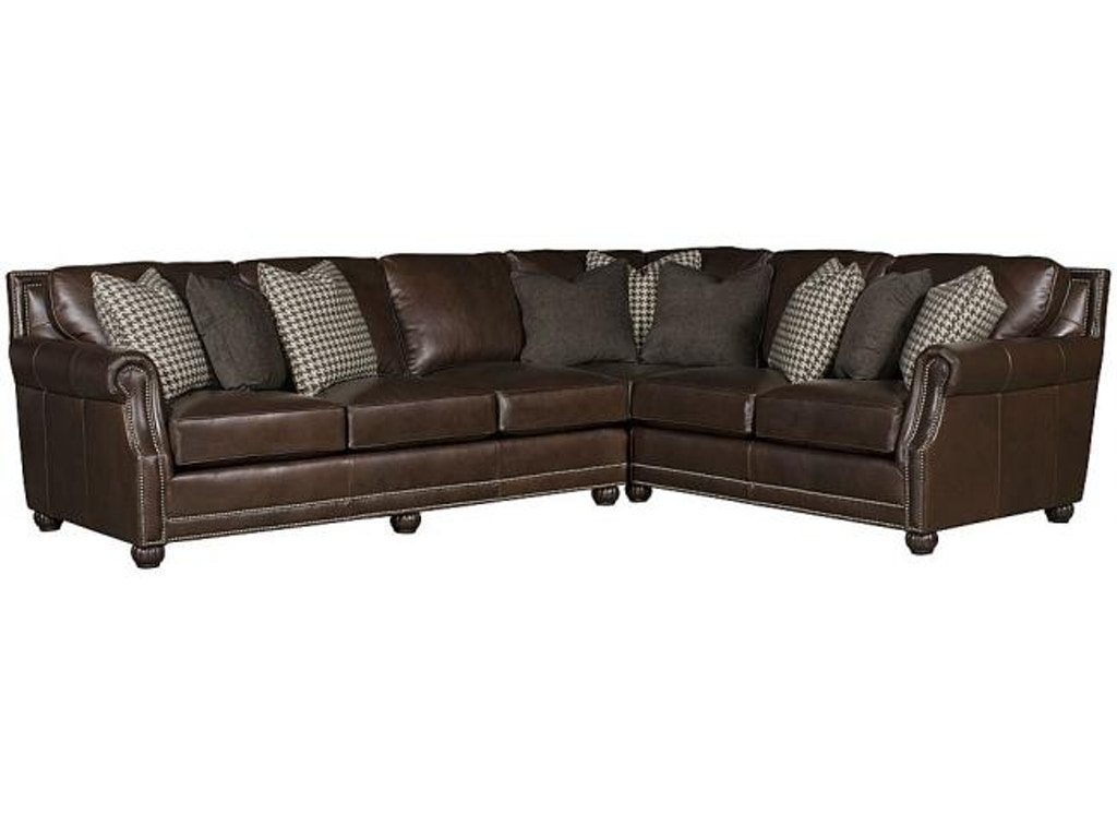 king hickory living room julianna leather sectional 3000