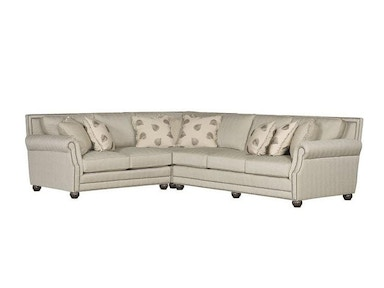 King Hickory Julianna Fabric Sectional