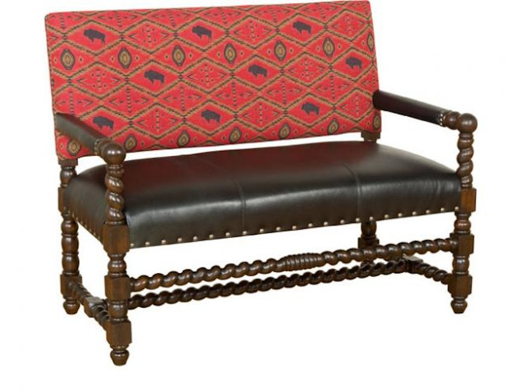 Hickory Manor Living Room Montes Settee W16 20 Lf Grace Furniture Marcy Ny