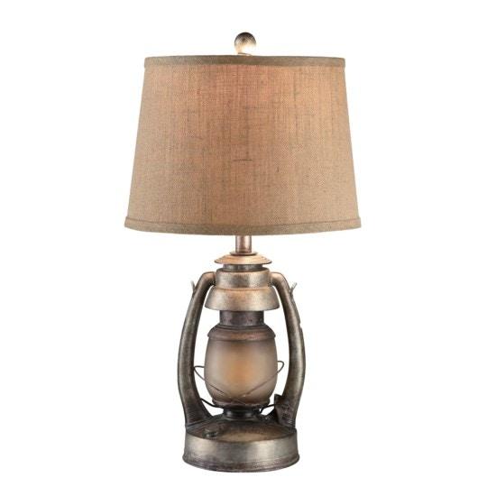 Crestview Lamps And Lighting Oil Lantern Table Lamp
