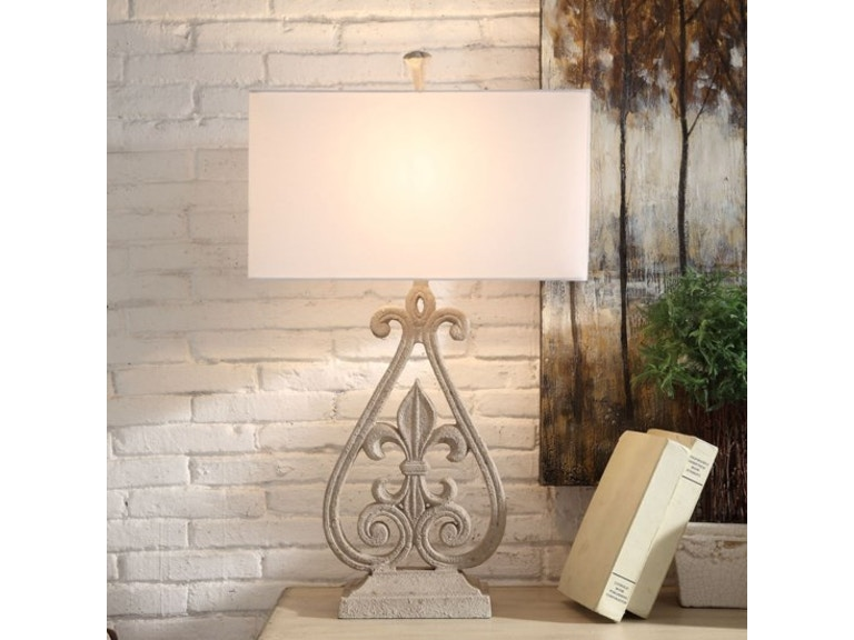 Crestview lamps and lighting fleur de lis table lamp cvavp840 crestview fleur de lis table lamp cvavp840 aloadofball Choice Image