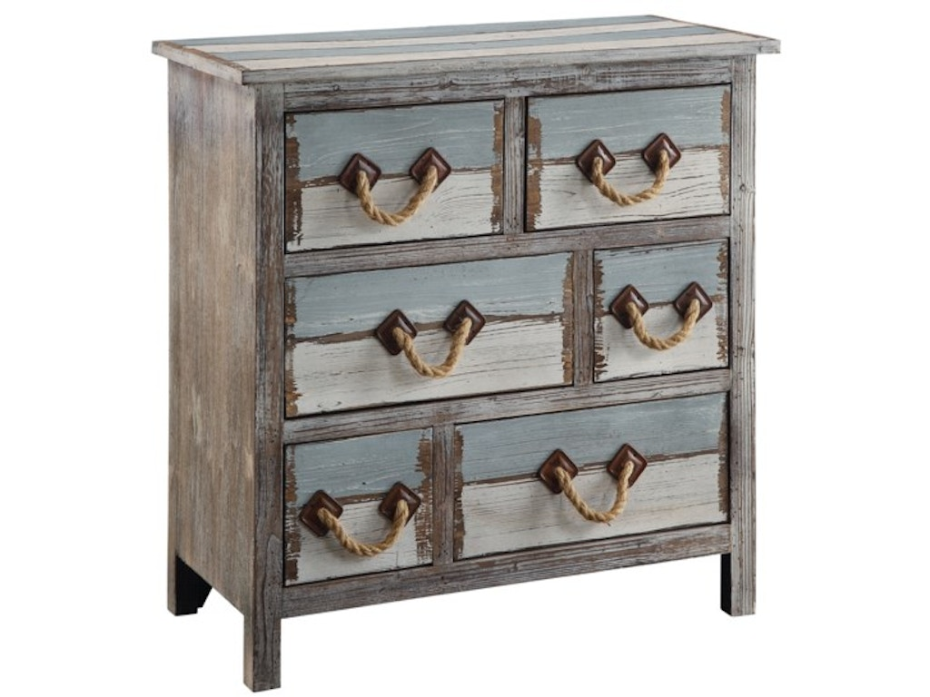 Crestview living room nantucket 6 drawer weathered wood for Furniture 4 less decatur al