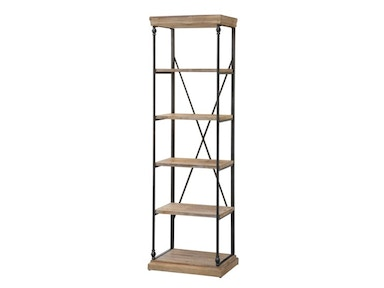 Crestview Living Room La Salle Metal And Wood Etagere