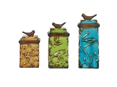 Crestview Accessories Bird Songs Boxes