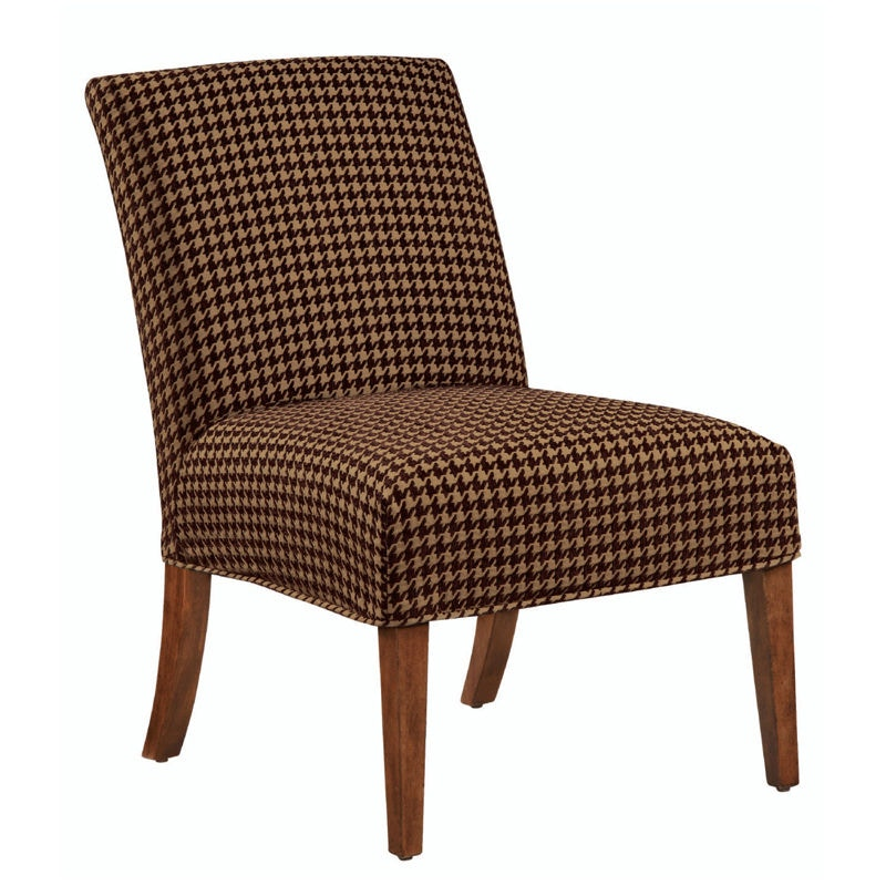 Bailey Street Houndstooth Slipper Chair Cover 6091490