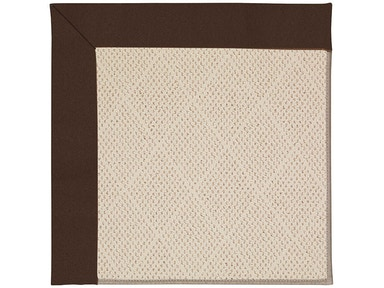 Capel Incorporated Creative Concepts White Wicker Rug 1993NS Canvas Bay Brown