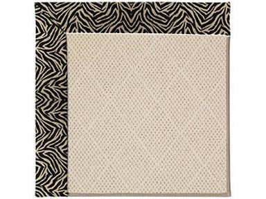 Capel Incorporated Creative Concepts-White Wicker Rug 1993RS Wild Thing Onyx