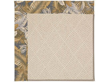Capel Incorporated Creative Concepts-White Wicker Rug 1993RS Bahamian Breeze Ocean