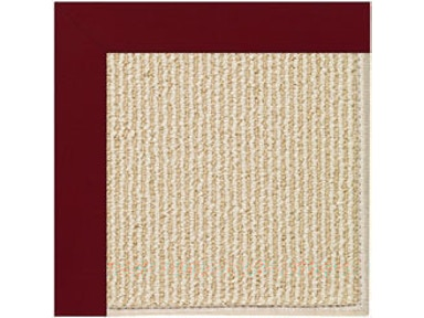 Capel Incorporated Creative Concepts-Beach Sisal Rug 2009RS Canvas Burgundy