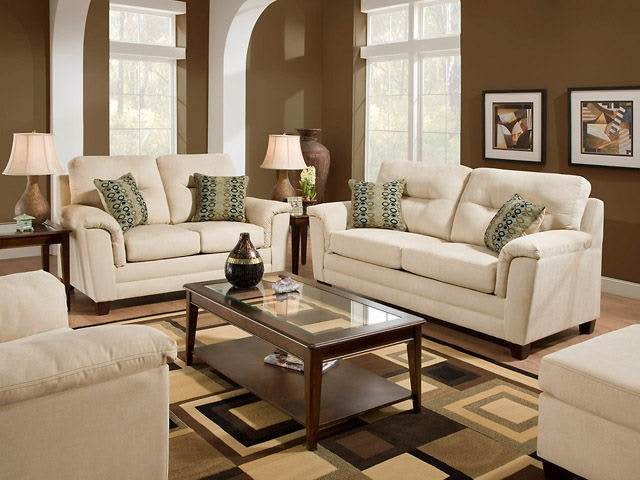 American Furniture Manufacturing Living Room Sofa 1073