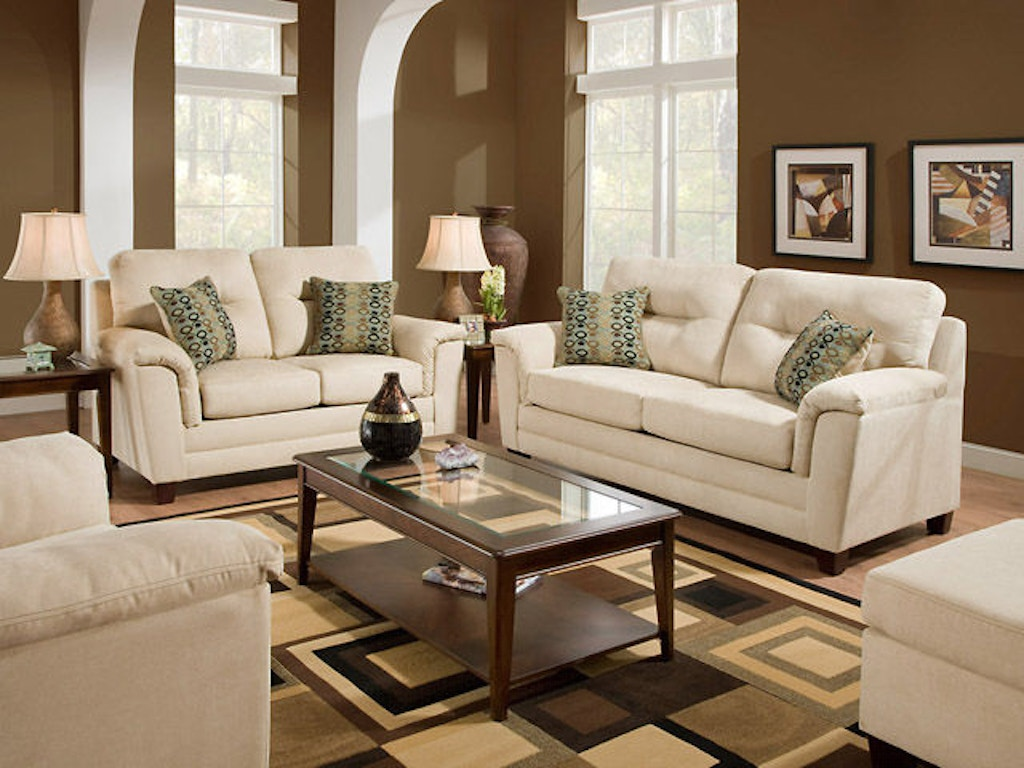 American Furniture Manufacturing Living Room Sofa 1073 2655 Butterworths Of Petersburg