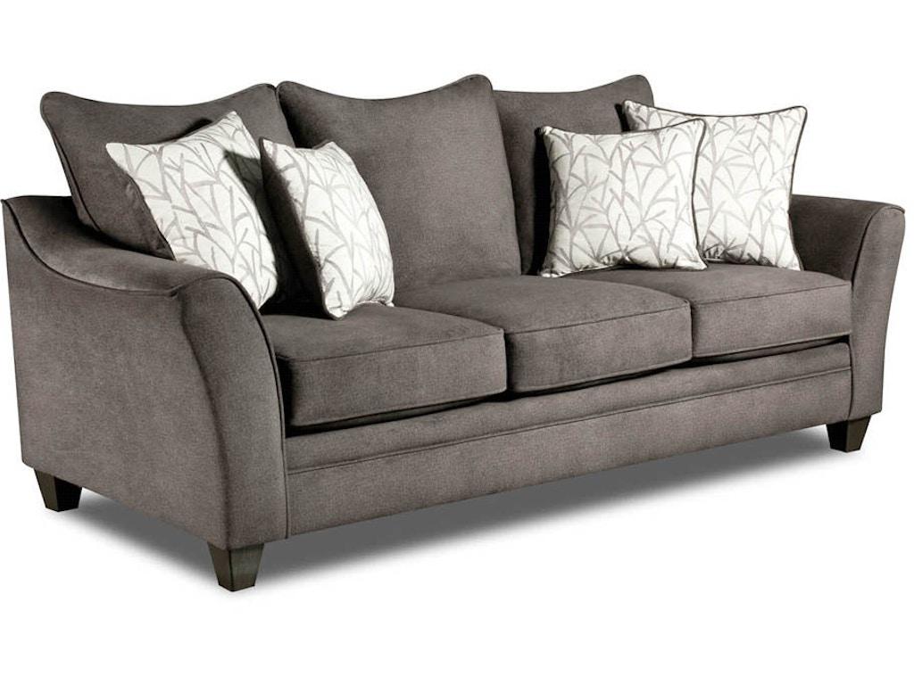 American Furniture Manufacturing Living Room Sofa 3853 4040 Butterworths Of Petersburg