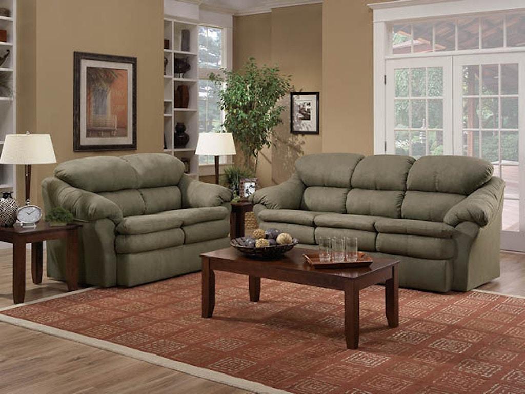 American Furniture Manufacturing Living Room Loveseat 4952 2660 Butterworths Of Petersburg