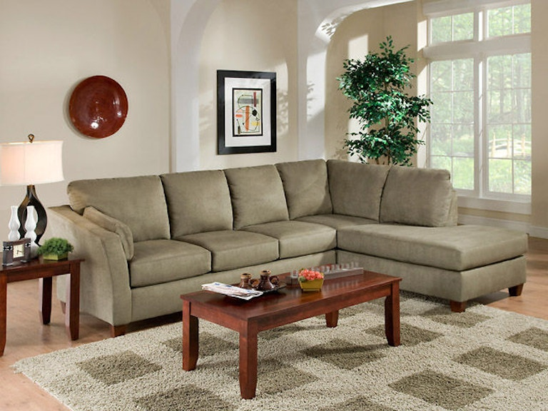 american furniture living room. American Furniture Manufacturing 2 Piece Sectional 7900 Glacier Olive  Living Room