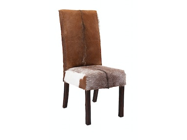 IMAX Corporation Andros Animal Hide Dining Chair 10250