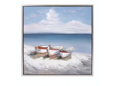 IMAX Corporation Seaside Oil On Canvas With Frame 11502
