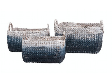 IMAX Corporation Cascade Woven Water Hyacinth Basket - Set Of 3 11601-3