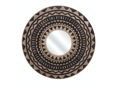 IMAX Corporation Aztec Embroidered Wall Mirror 11671