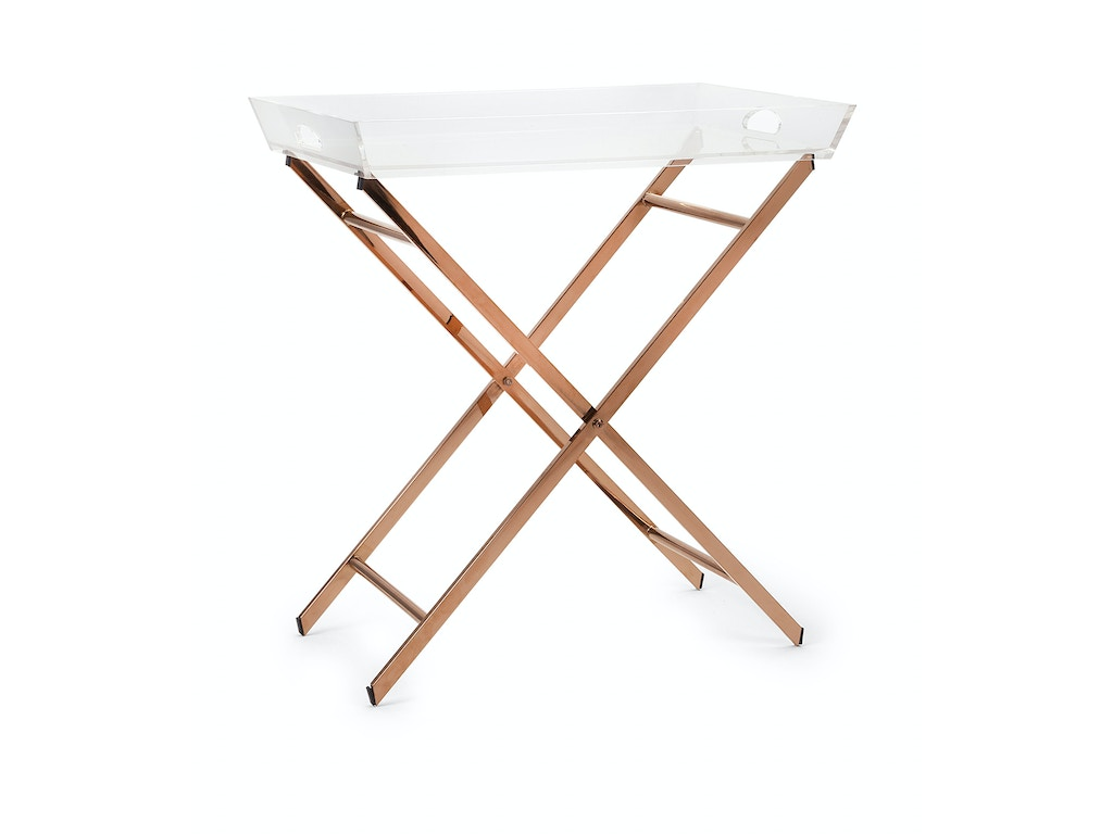 Imax Corporation Living Room Clinton Acrylic Tray Table