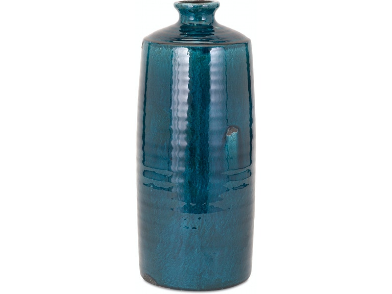 Imax Corporation Accessories Arlo Blue Large Vase 13310 Carol