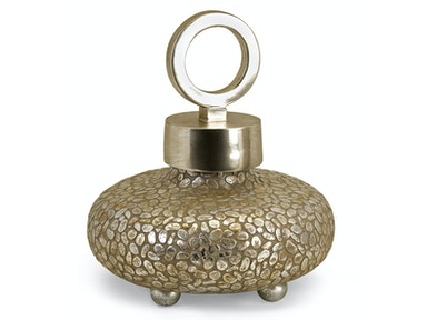 IMAX Corporation Accessories Ck Round Myriad Lidded Vase