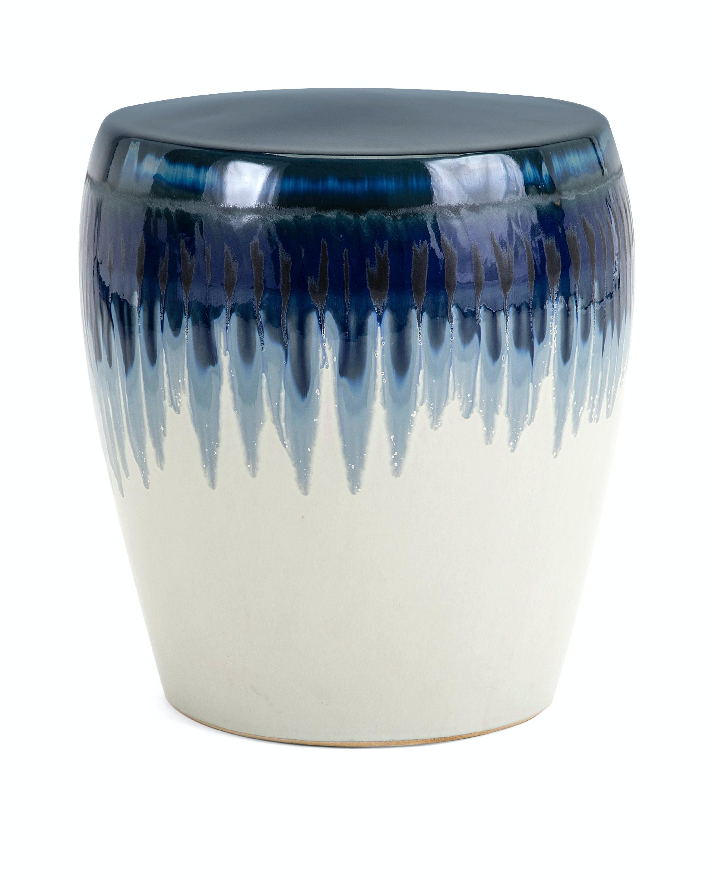 IMAX Corporation Outdoor/Patio Hamako Ceramic Garden Stool 13724 At Carol  House Furniture