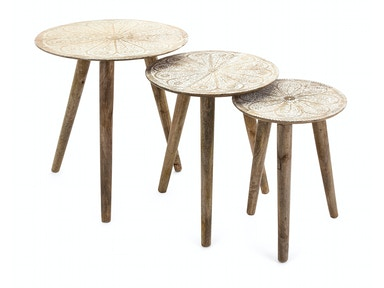 IMAX Corporation Cashel Round Tables - Set of 3 14063-3