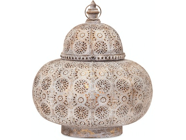 IMAX Corporation Lamps and Lighting Eliza Large Pierced Lantern
