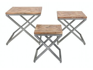 IMAX Corporation Yellen X-Leg Wood Tables - Set of 3 14252-3
