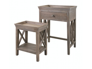 IMAX Corporation Britton Side Tables - Set of 2 14385-2