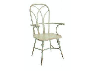 IMAX Corporation Georgette Metal Arm Chair 19232
