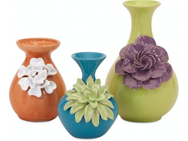 IMAX Corporation Accessories Baylee Mini Vases - Set Of 3