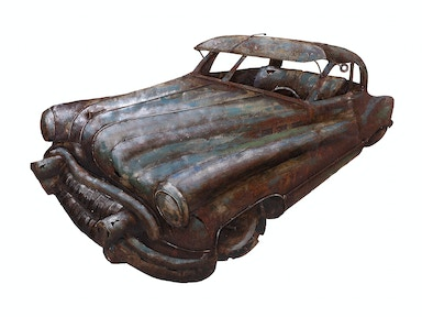 IMAX Corporation Accessories Vintage Car Dimensional Wall Decor