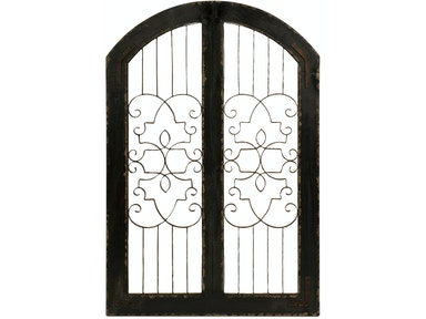 IMAX Corporation Accessories Amelia Iron And Wood Gate