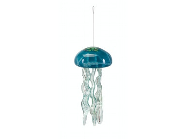 IMAX Corporation Accessories Jellyfish Large Glass Windchime
