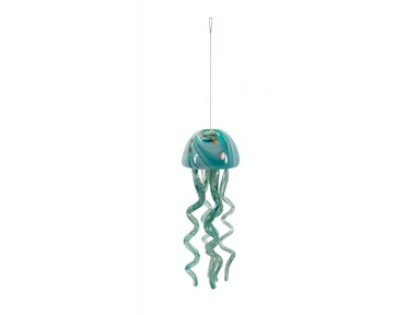 IMAX Corporation Accessories Jellyfish Small Glass Windchime